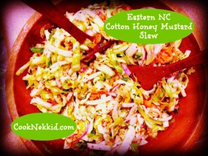 Eastern North Carolina Cotton Honey-Mustard Slas