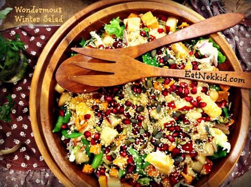 ...a tasty salad of the season!