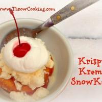krispy kreme snow kake 1