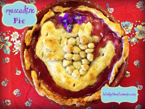 Muscadine Pie