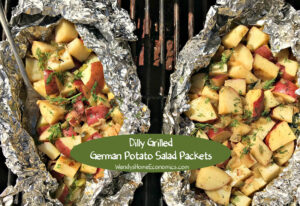 Dilly Grilled German Potato Salad Packets
