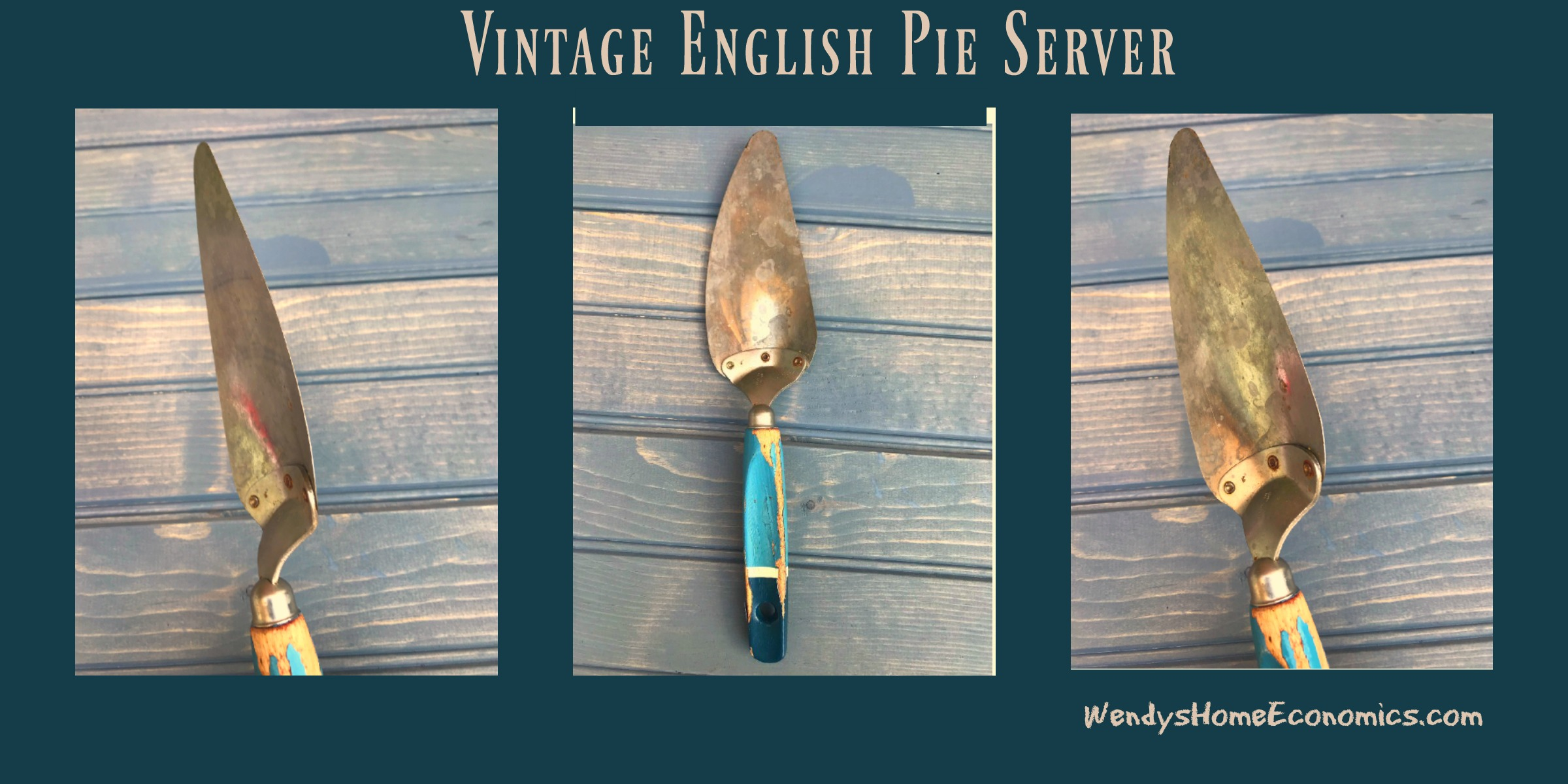 Vintage English Pie Server