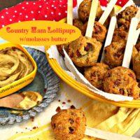 Country Ham Lollipups